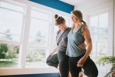 Partner yoga workshop Surrey Hills